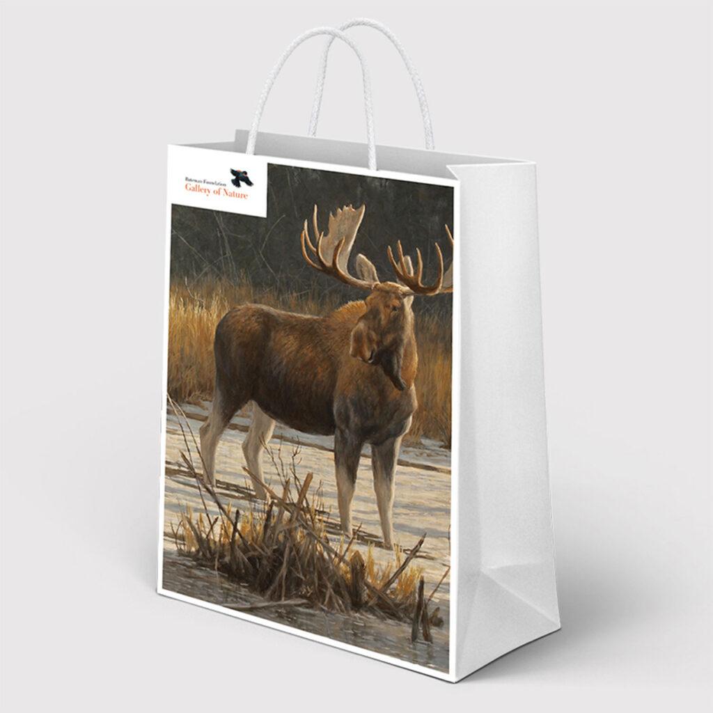 A Bateman Foundation-branded bag.