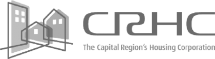 The logo for CRHC.