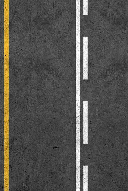 A close-up shot of a road.