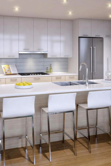 Lyra residence kitchen